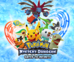 Pokémon mystery Dungeon: Gates to Infinity - artwork ke hře
