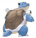 Blastoise ze hry Pokémon X a Pokémon Y na Nintendo 3DS