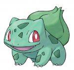Bulbasaur ze hry Pokémon X a Pokémon Y na Nintendo 3DS