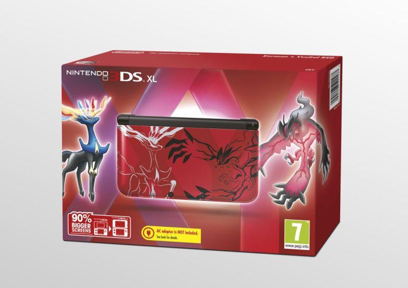 speciální edice Pokémon 3DS XL balení